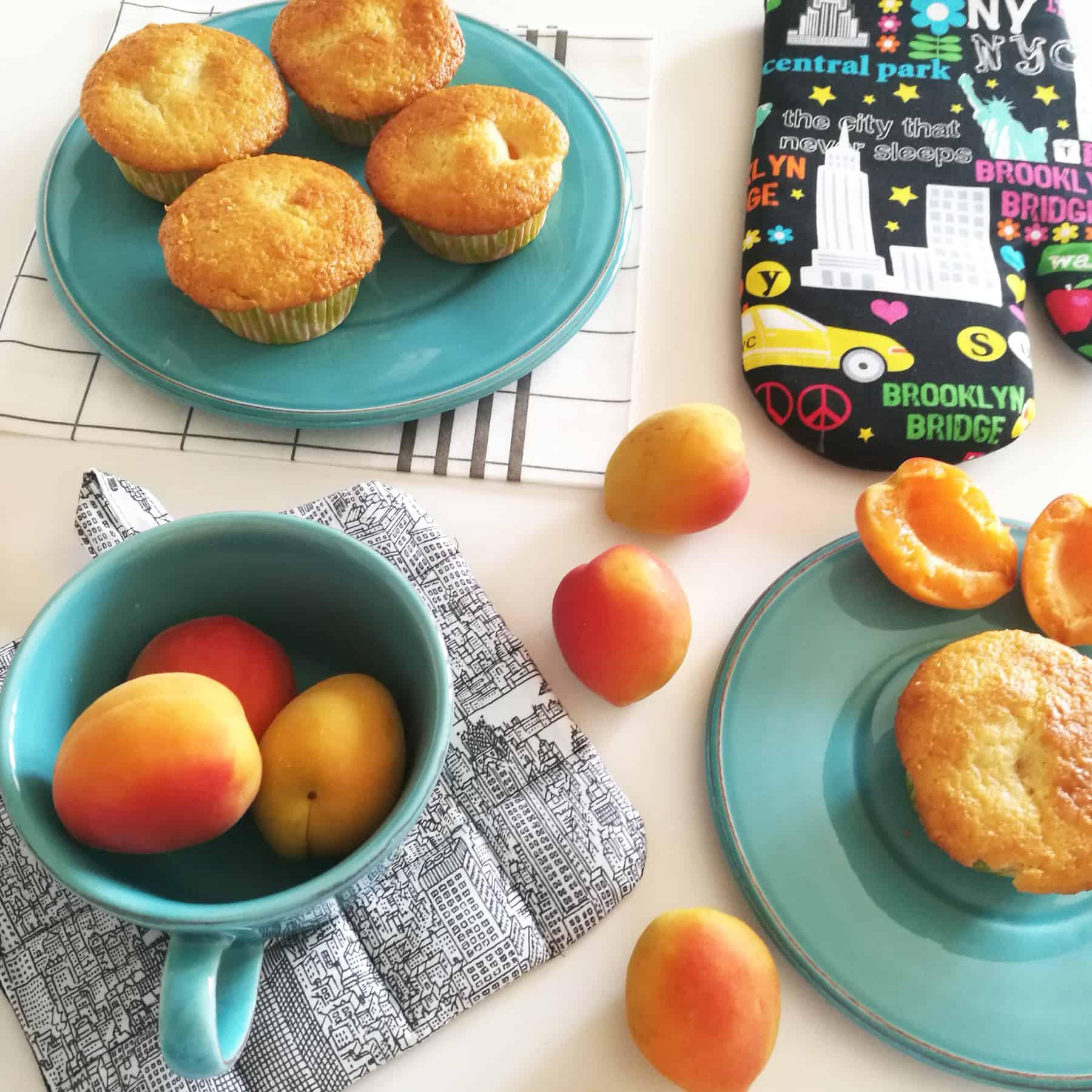 muffin albicocche