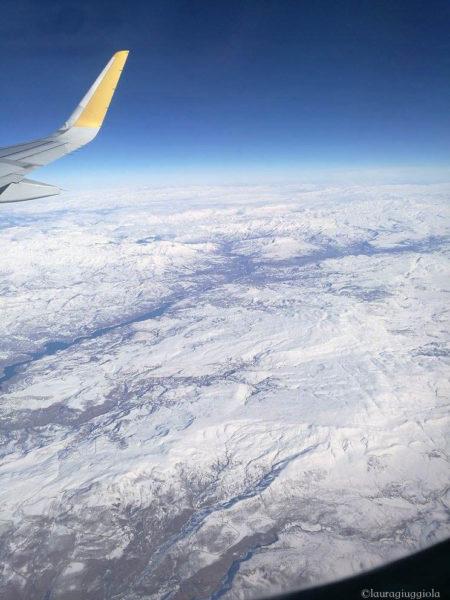 nuvole aereo