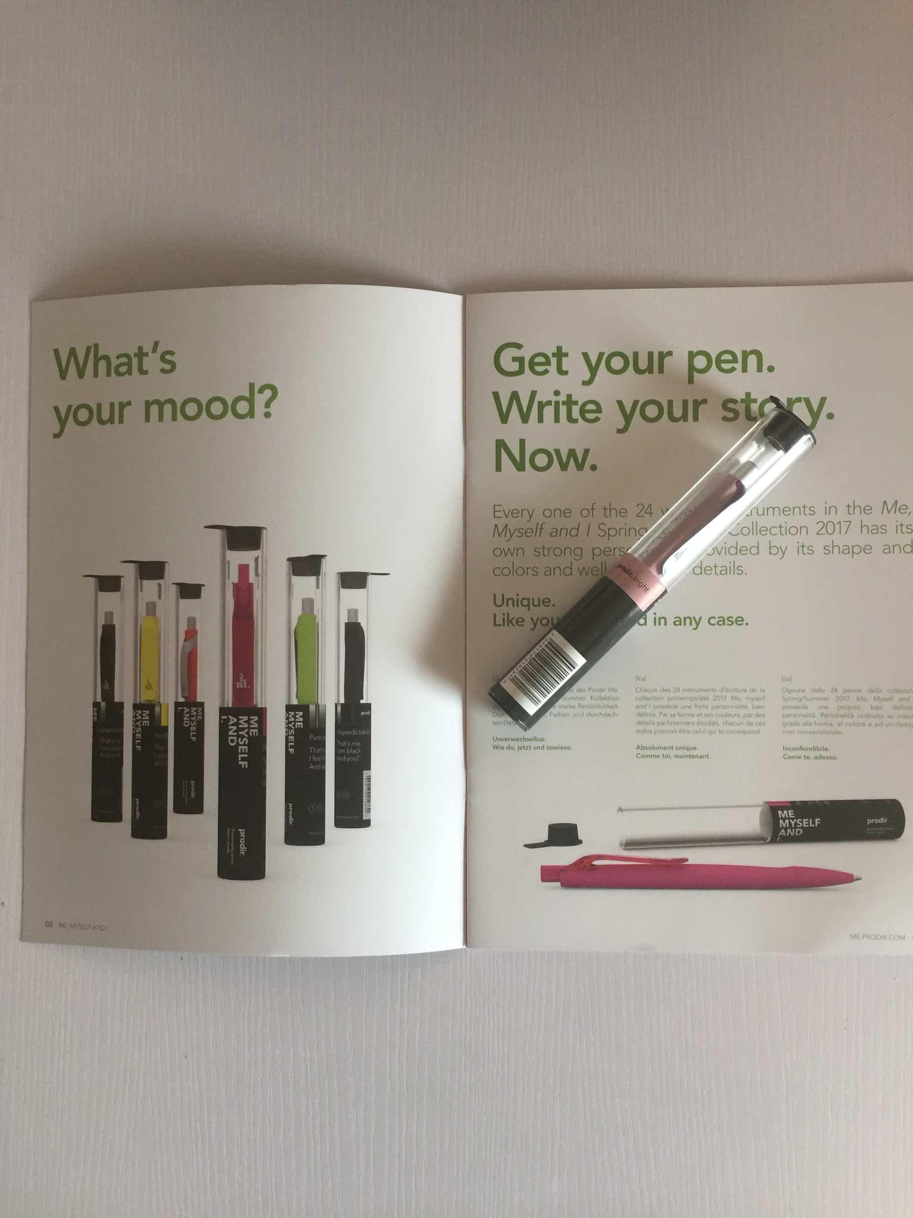 prodir: oggi di che penna sei?