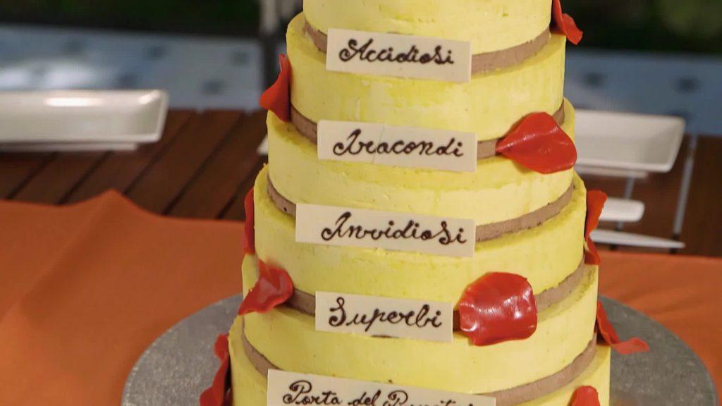 Torta Purgatorio di Knam - Prova Tecnica (Bake Off)