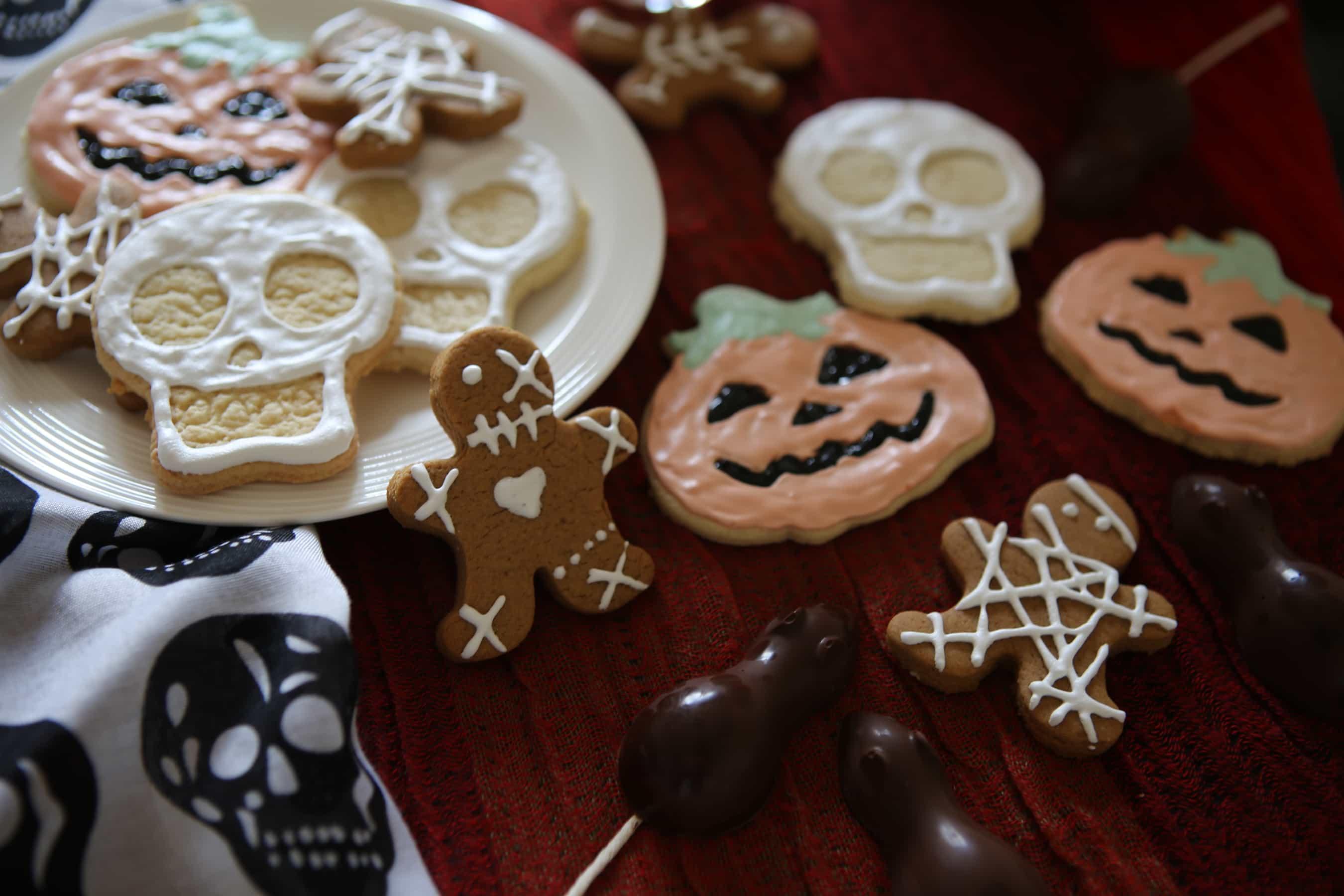 Deliziosi biscotti di Halloween