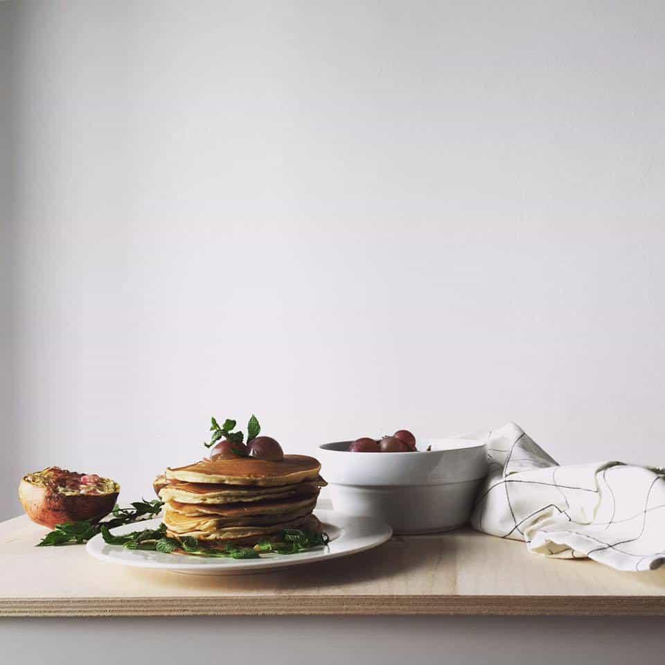 Pancakes alla farina di farro