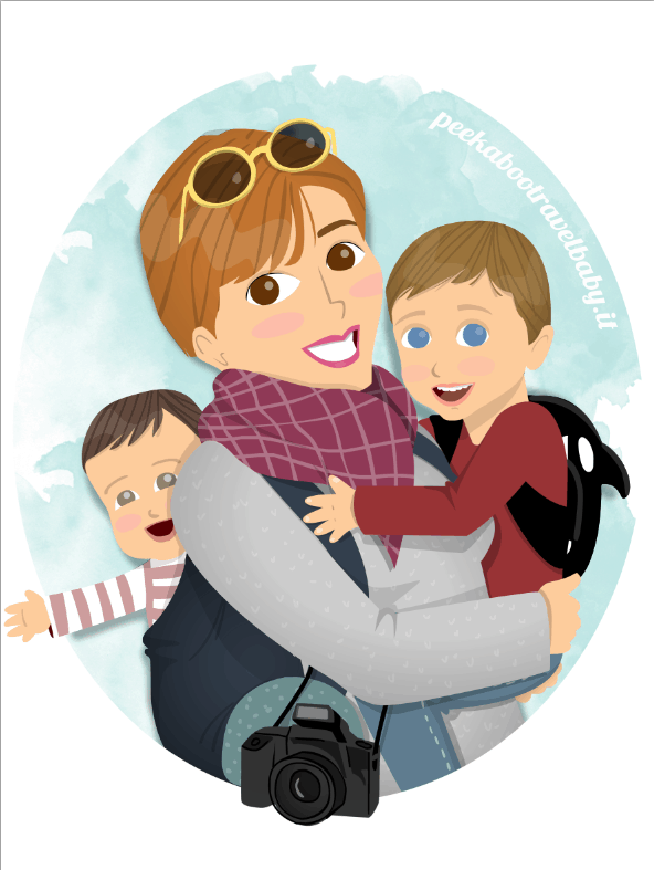 #mammeblogger Peekaboo Travel Baby