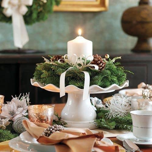 L'alzatina in stile nordico per la tavola delle feste
