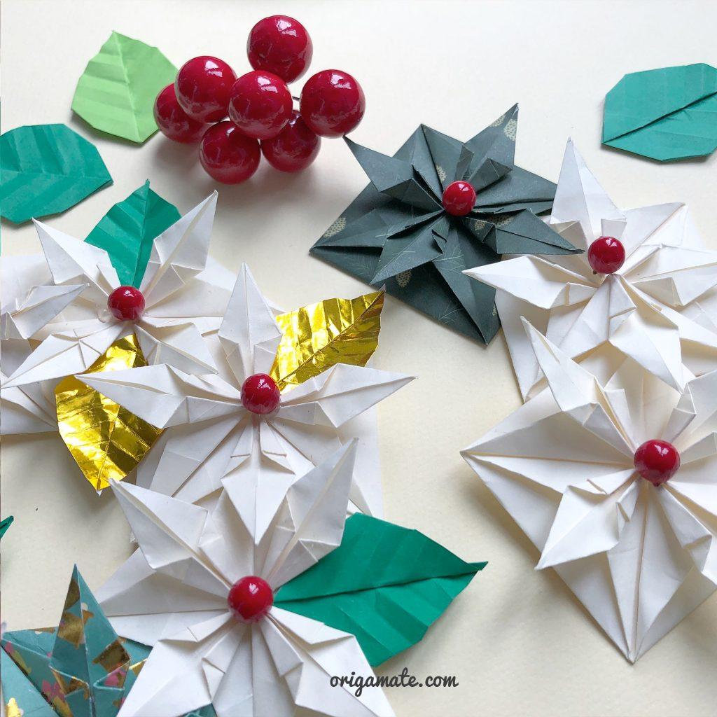 centrotavola-natalizio-origami