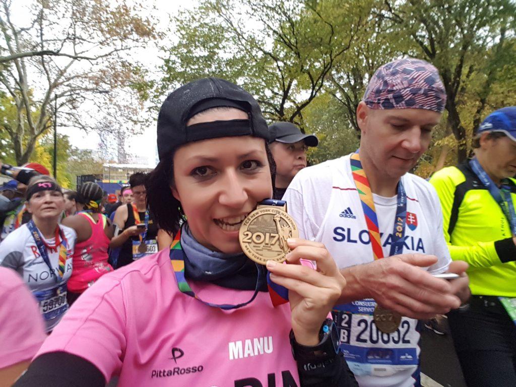 Maratona di New York, la mia medaglia