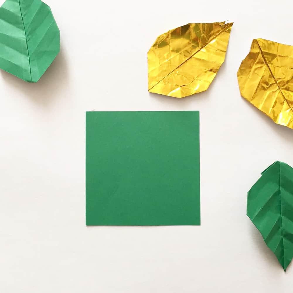 origami-foglia