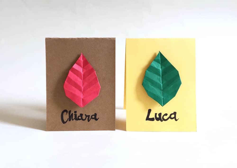 origami-segnaposto