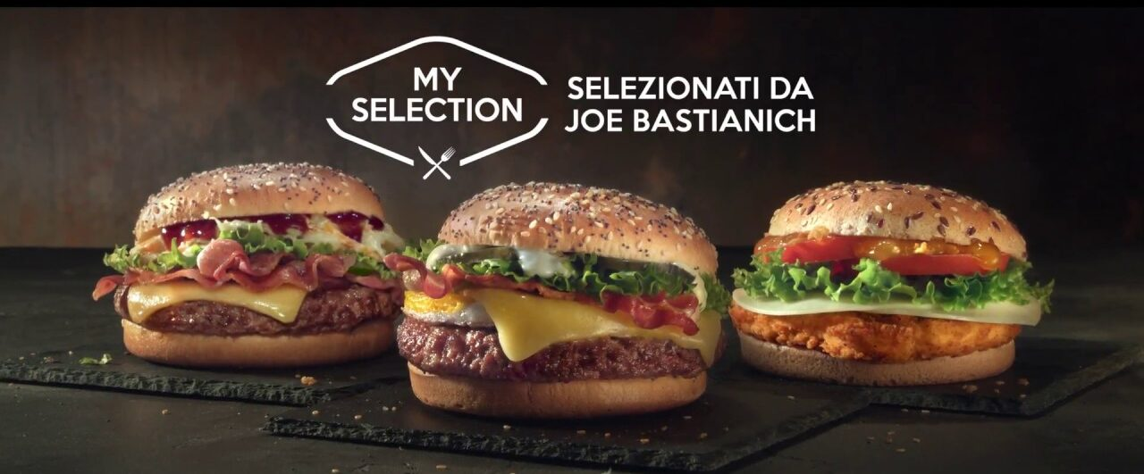 Mc Donald's : My selection firmata da Joe Bastianich