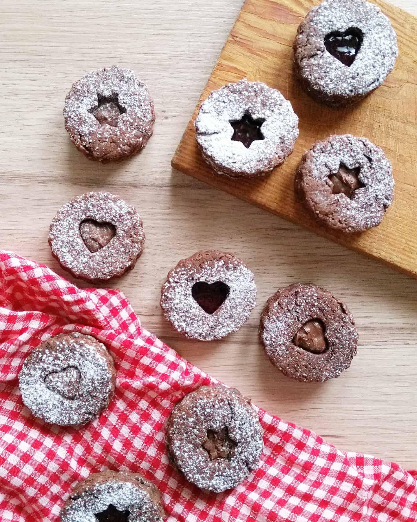 Biscotti Linzer: tradizione austriaca