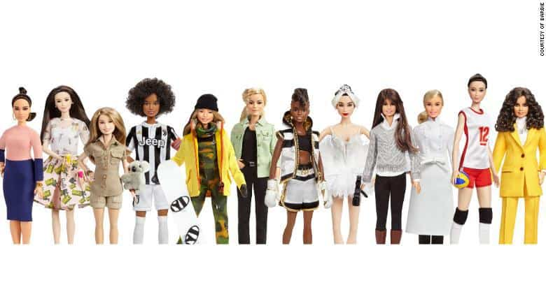 Le nuove Barbie: Inspiring Women
