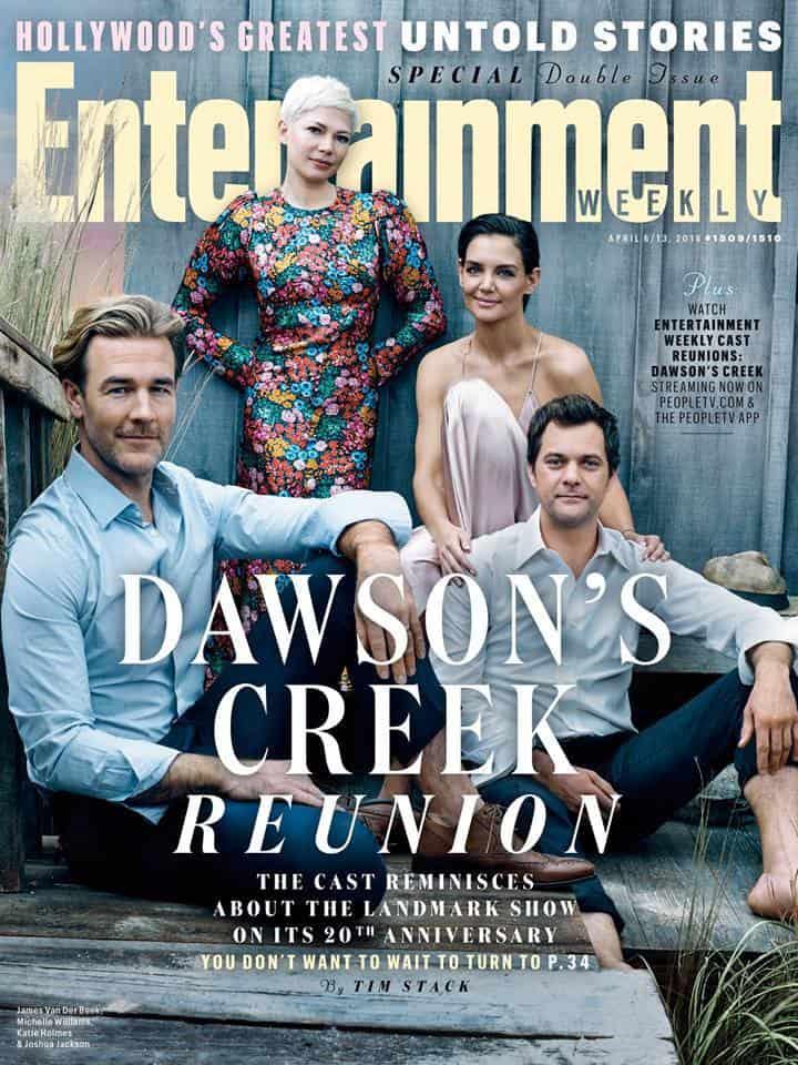 Dawson's Creek 20 anni dopo: la reunion del cast