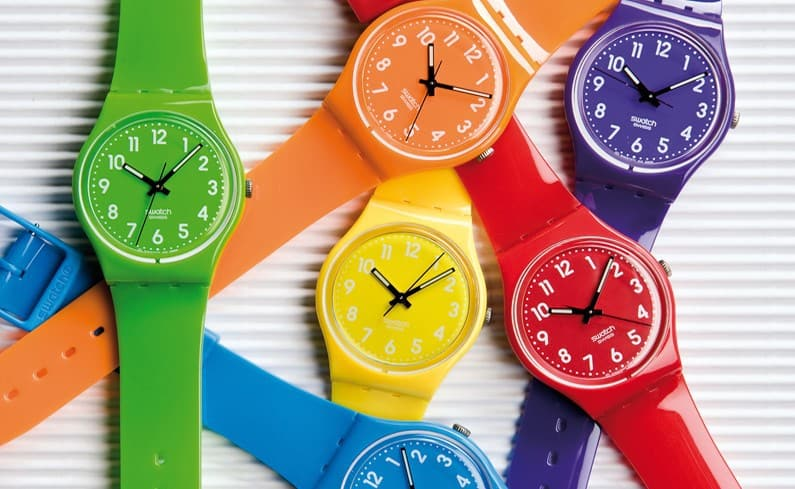 Swatch compie 35 anni