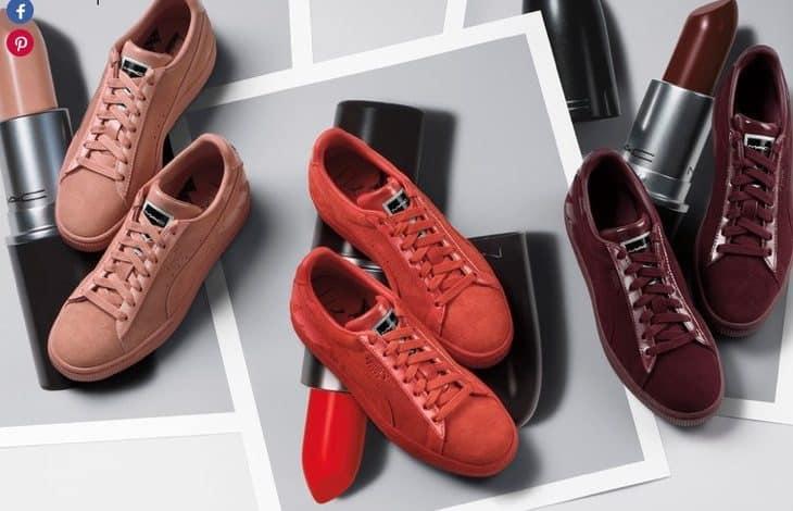 MacXPuma: oggi le scarpe si abbinano al rossetto