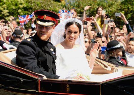 Matrimonio reale-harry e meghan