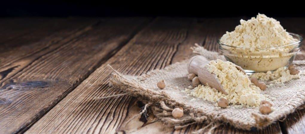 depilazione naturale farina di ceci