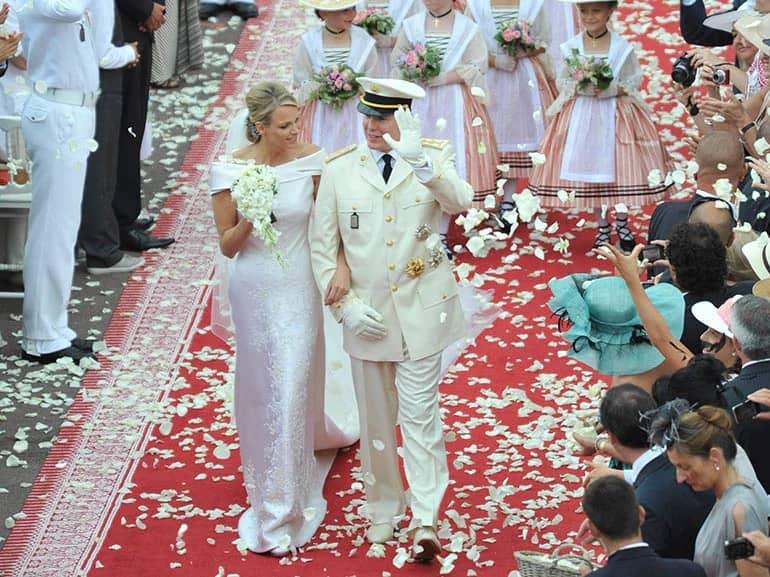 royal wedding Alberto II di Monaco e Charlene Wittstoc