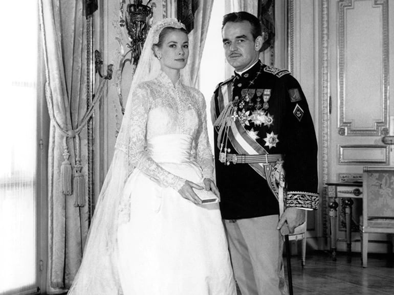 royal wedding Grace Kelly e Ranieri di Monaco