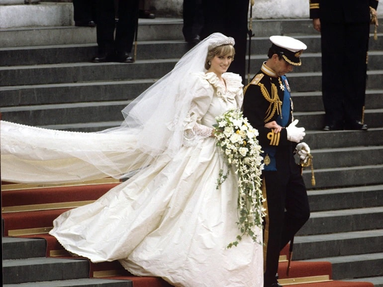 royal wedding Principe Carlo e Lady D