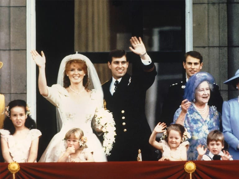 royal wedding Sarah Ferguson e Principe Andrew