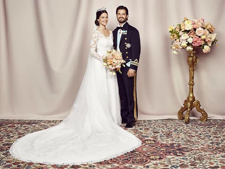 royal wedding Sofia Hellqvist e Carl Philip di Svezia