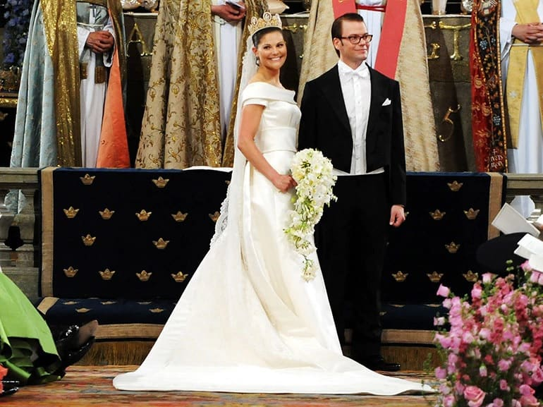 royal wedding Victoria di Svezia e Daniel Westling