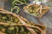 torta mandorella e zucchine