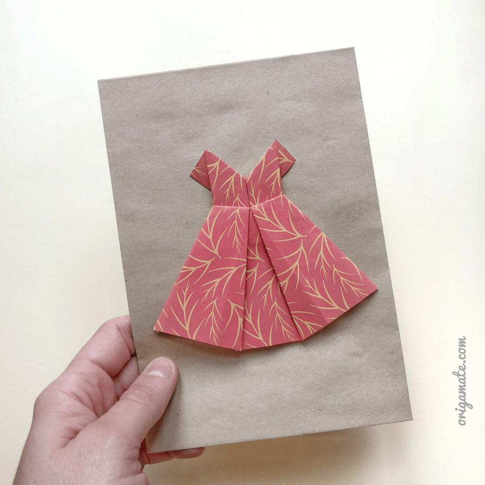 origami vestito