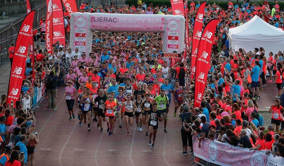 Le corse più belle di giugno: un successo la Lierac Beauty Run