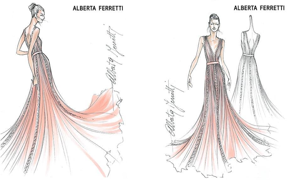 the ferragnez - L'abito delle damigelle