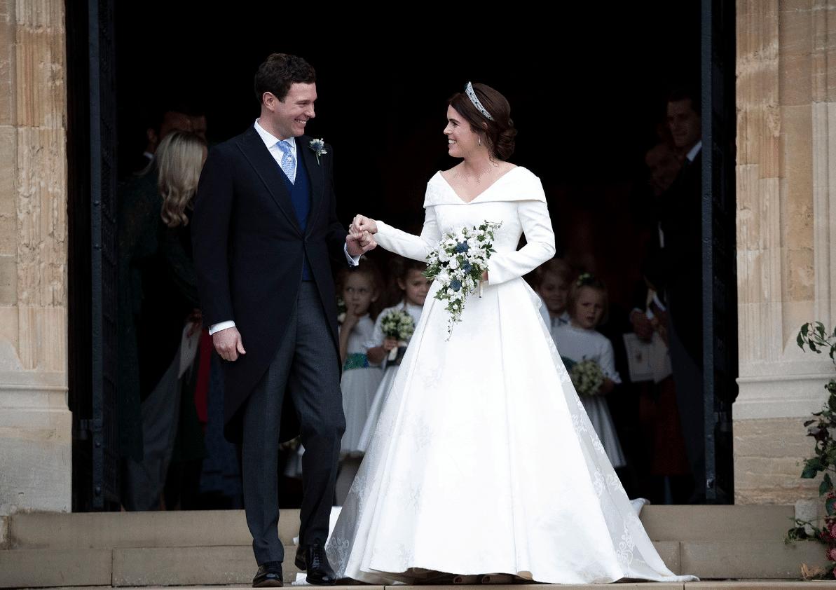 Royal Wedding Bis: Eugenie di York e  Jack Brooksbank