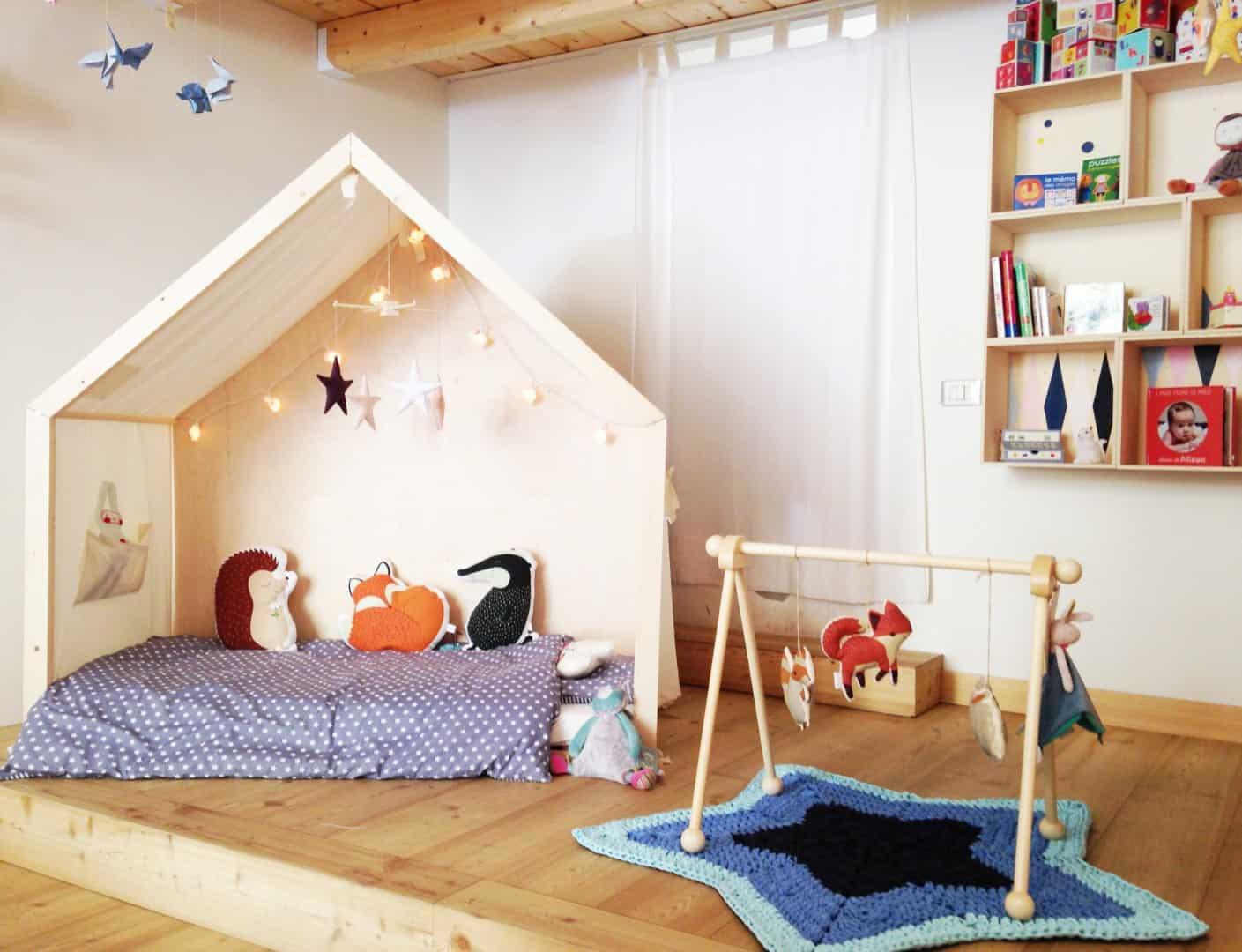 """Una casa """"a misura di bambino"""" grazie alla filosofia Montessoriana"""