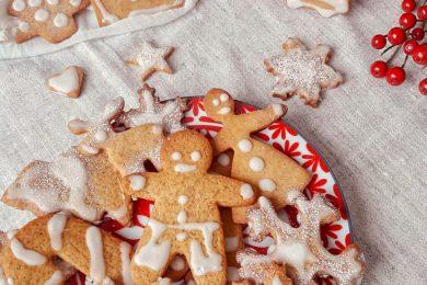 Biscotti speziati allo zenzero e cannella