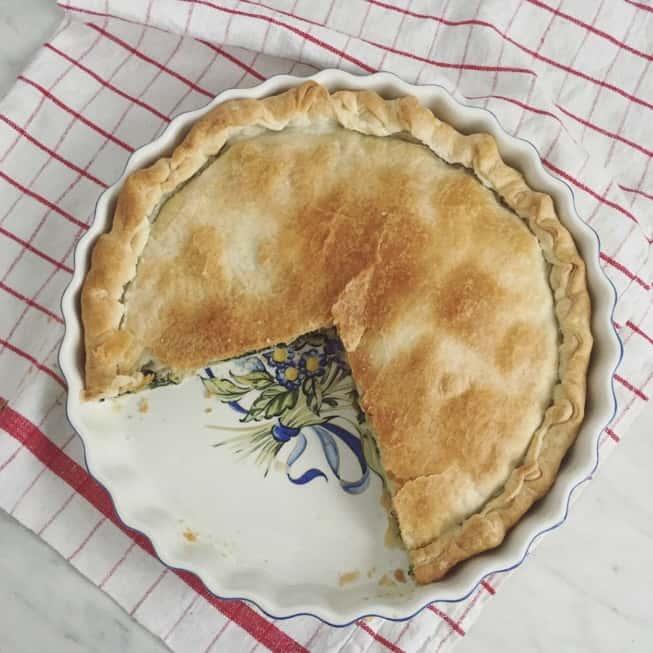 Ricetta Per La Torta Pasqualina Genovese Con Bietole E Carciofi