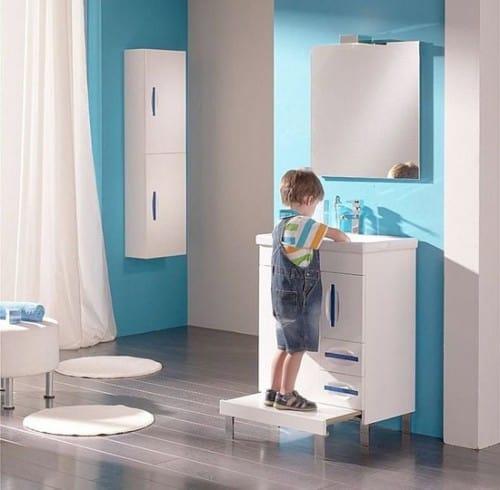 Arredare il bagno a misura di bambino