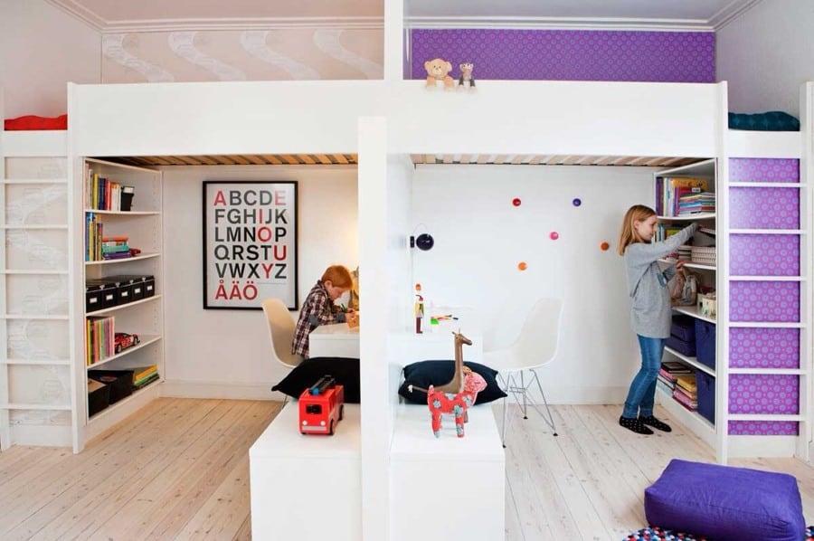 Spazi creativi in casa per i bambini