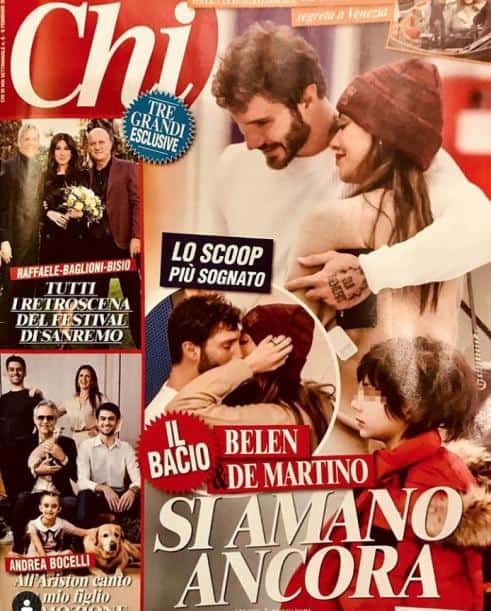 Belen Rodriguez e Stefano De Martino di nuovo insieme