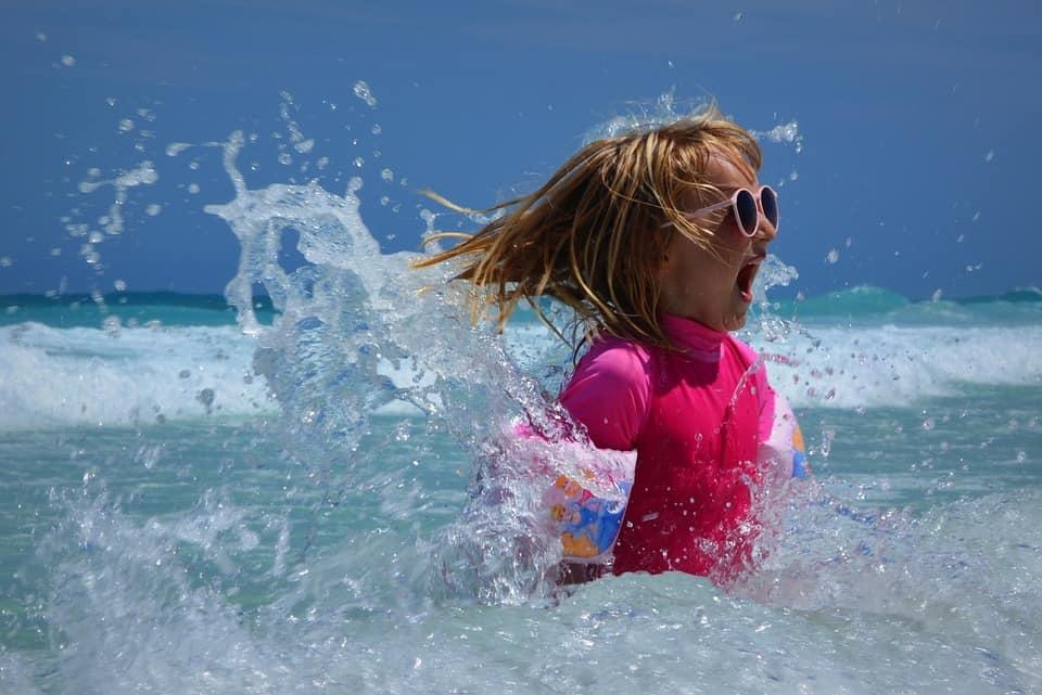 Bambini al sole: la protezione solare