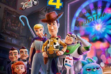 La locandina di Toy Story 4