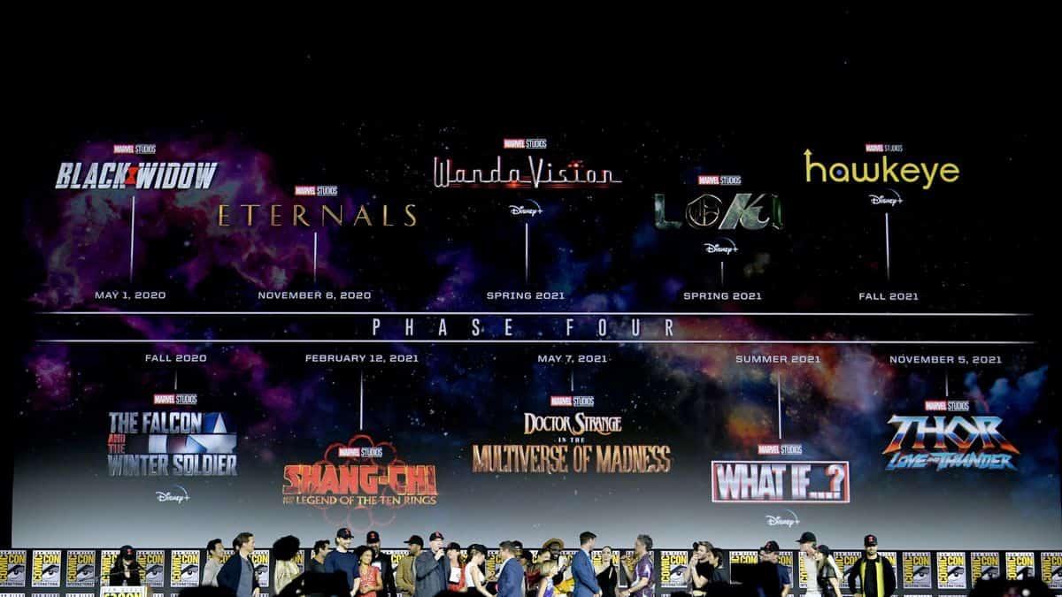 Marvel: ecco i titoli della fase 4