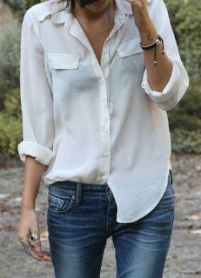 Camicia bianca: un must per la nostra estate