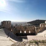 Atene in tre giorni Il teatro di Erode Attico, Foto di Daniela Sabella