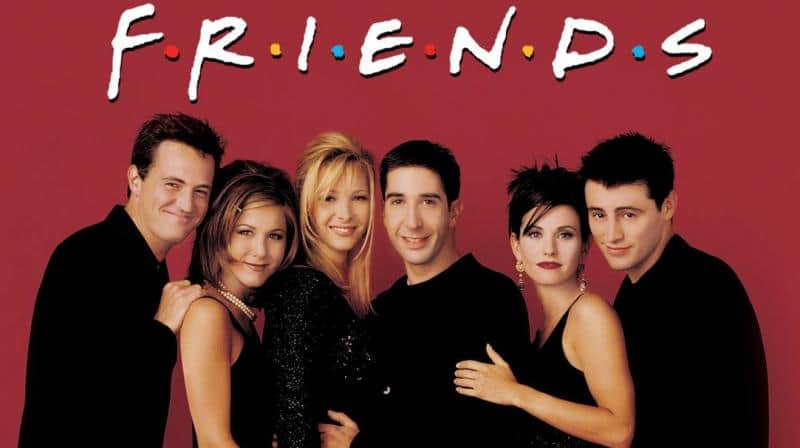 Friends spegne 25 candeline