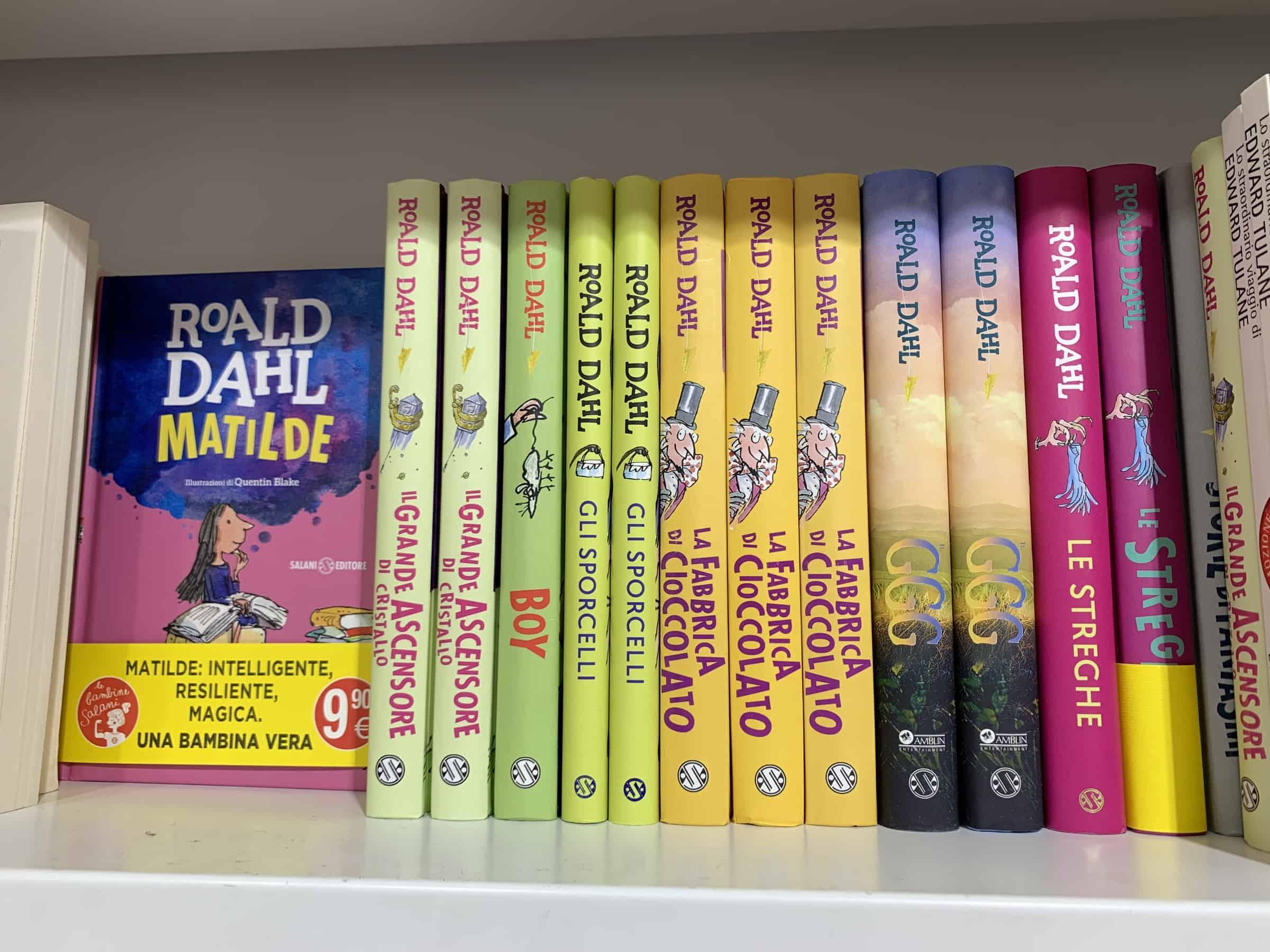 Celebriamo oggi il famoso scrittore Roald Dahl