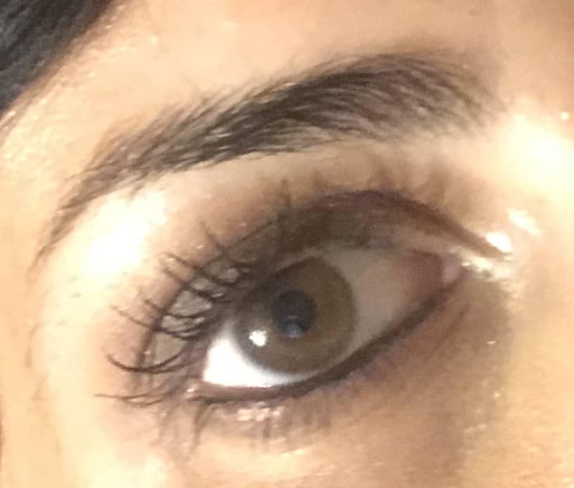 Dettaglio trucco occhi