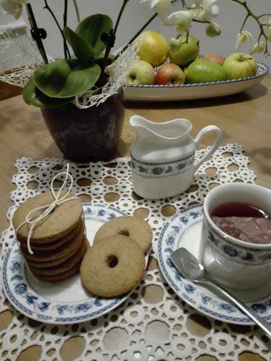 Biscotti di Natale al grano saraceno