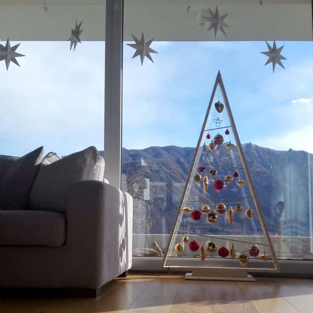 stelle natalizie tridimensionali