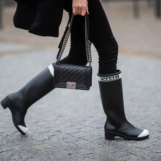 Stivali da pioggia: assolutamente trendy