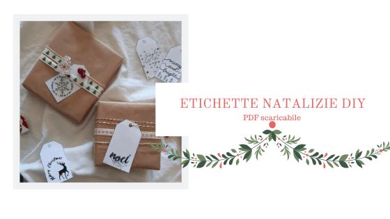 Etichette natalizie (file scaricabile)