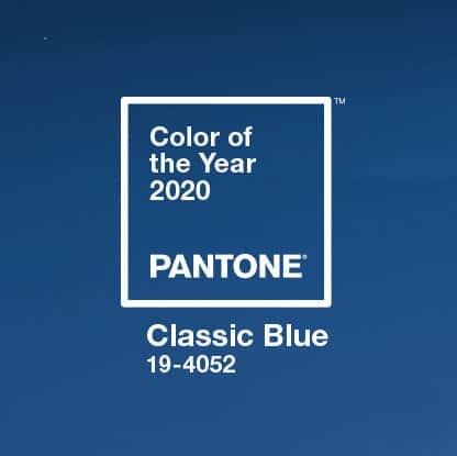 Il colore Pantone 2020: Classic Blue